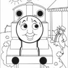 thomas the tank engine coloring pages 7 140x140 Thomas the Tank Engine Coloring Pages