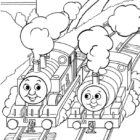 thomas the tank engine coloring pages 9 140x140 Thomas the Tank Engine Coloring Pages