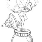 TinkerBell Coloring Pages (19)