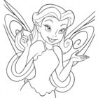 TinkerBell Coloring Pages (8)