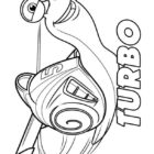 Turbo Coloring Pages (1)