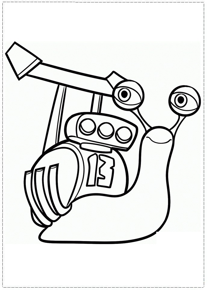 Turbo Coloring Pages 3 Coloring Kids