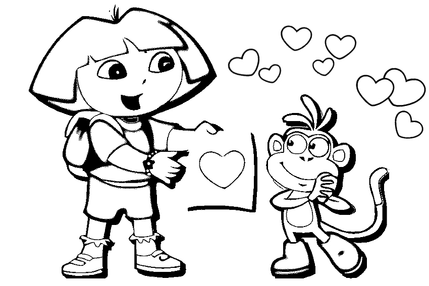 Valentine Coloring Pages (7)