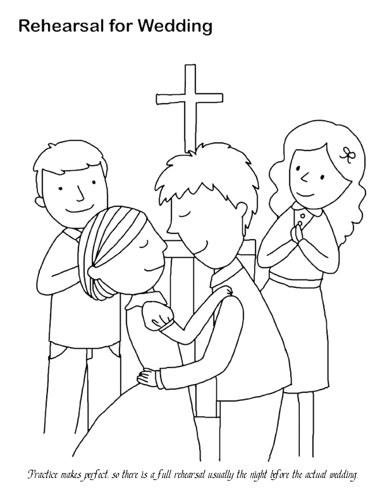 Wedding Coloring Pages 14 Coloring Kids Wedding Coloring Pages For