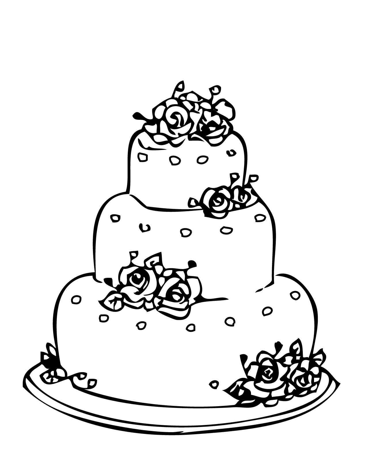 download wedding coloring pages 2 - Wedding Coloring Books