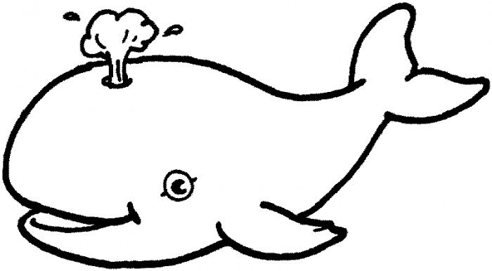 download whale coloring pages 1 - Coloring Picture Of A Whale