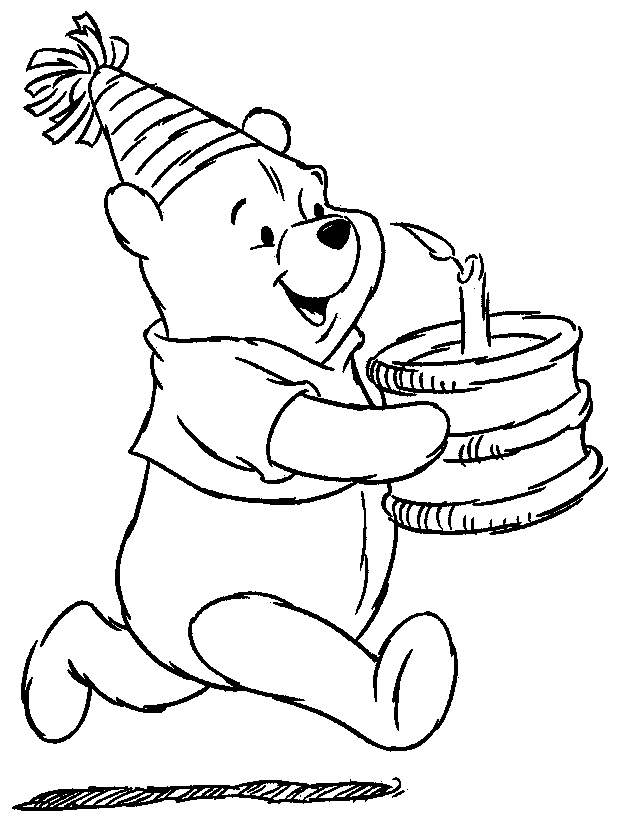 download winnie the pooh coloring pages 3