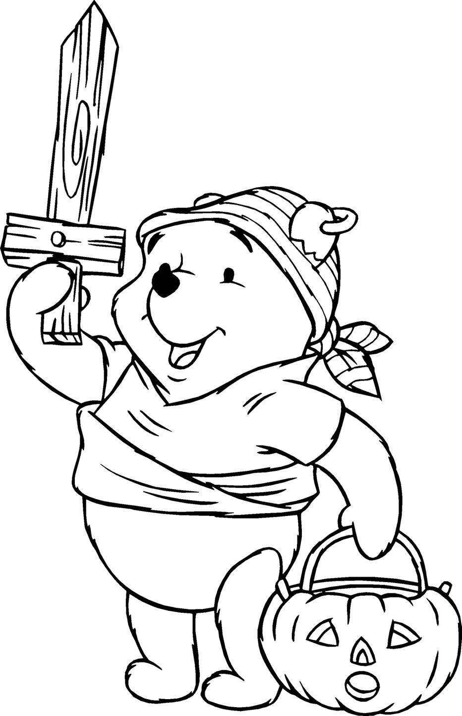 Winnie The Pooh Coloring Pages 8 Coloring Kids