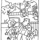 zoo coloring pages 2 140x140 Zoo Coloring Pages