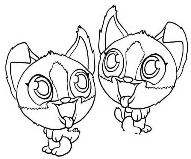 Zoobles coloring pages33 coloring kids for Zoobles coloring pages