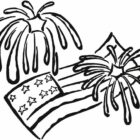 40760-4th-of-july-fireworks-flags-coloring-page
