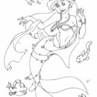 Ariel Coloring Pages