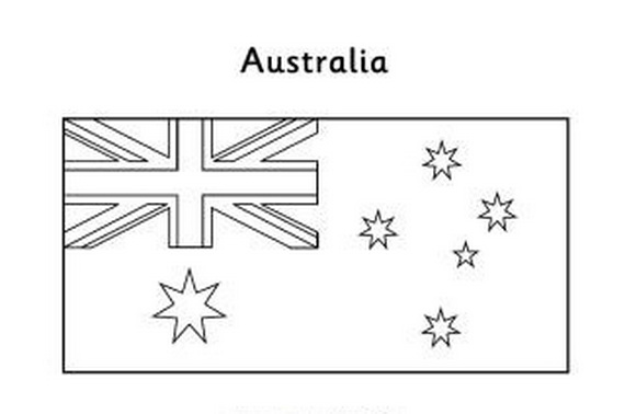 Australia Day Coloring Pages (2)