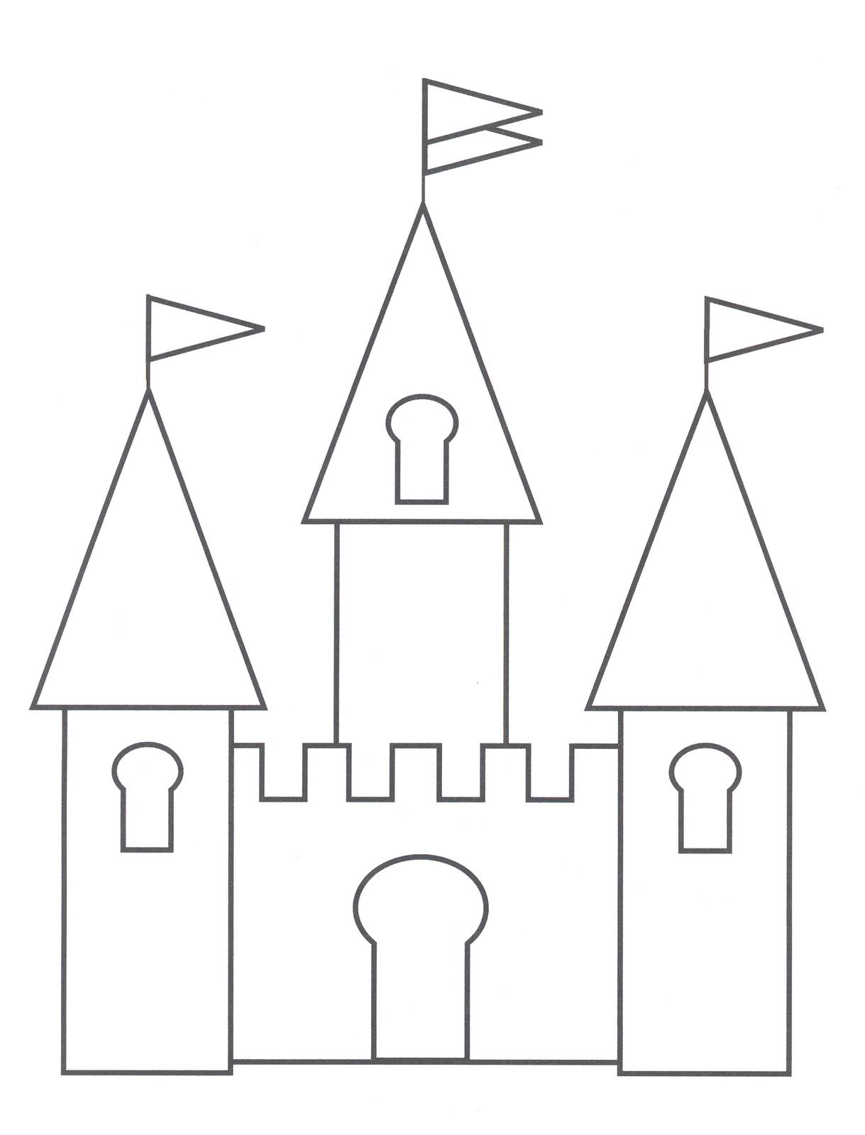 Castles-coloring-page-2