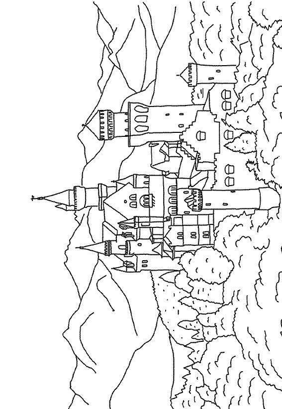 Castles-coloring-page-27