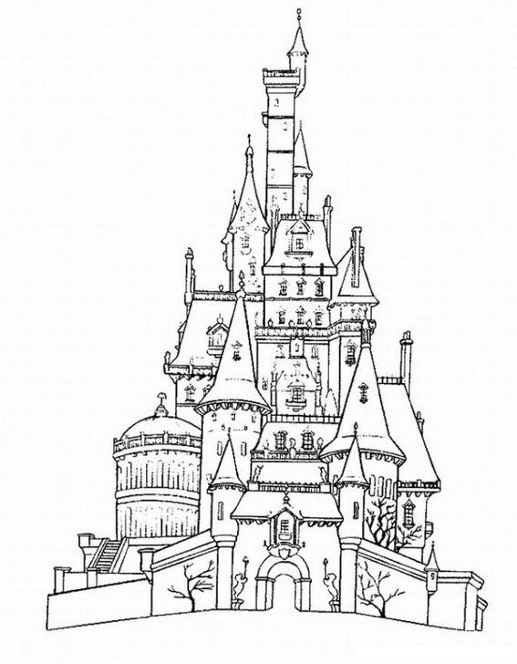 Castles-coloring-page-35