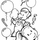 Childrens Day Coloring Pages