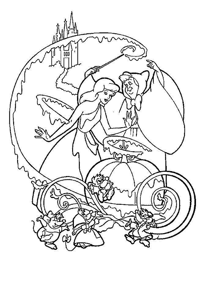 Cinderella-coloring-page-1