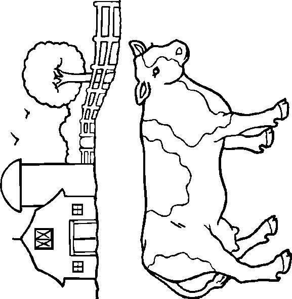 Cows-coloring-page-2