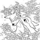 Deers-coloring-page-11