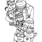 Despicable Me Coloring Pages (4)
