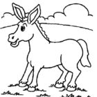 Donkeys-coloring-page-3