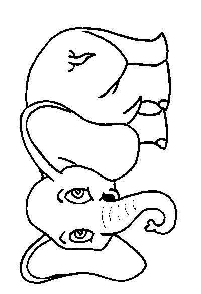 Elephants-coloring-page-9