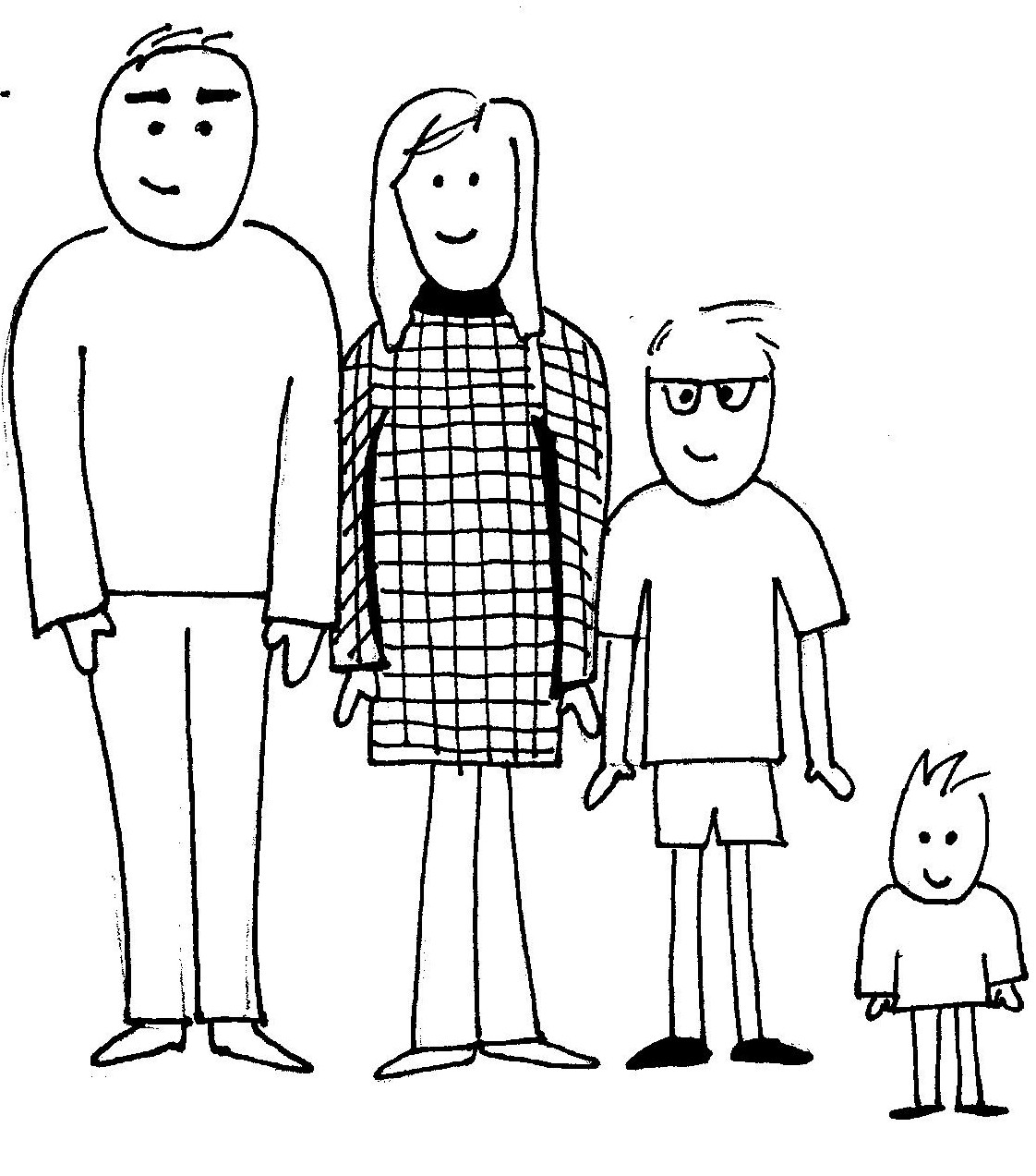 Family Coloring Pages | Coloring Kids