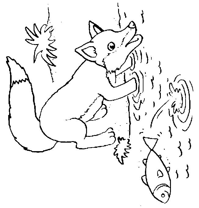 Foxes-coloring-page-3