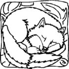 Foxes-coloring-page-5