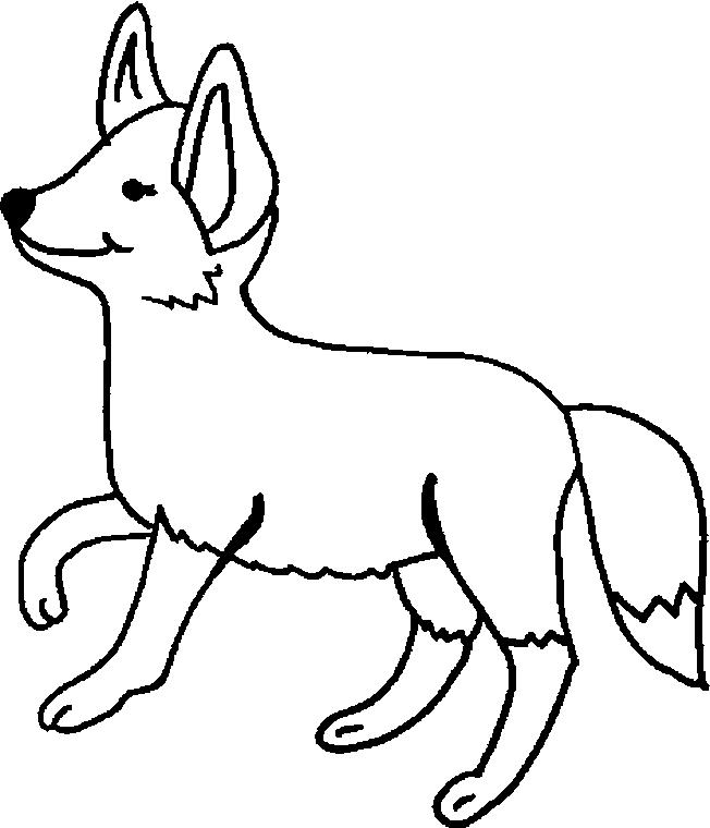Foxes-coloring-page-7