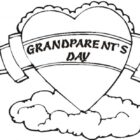 Grandparents Day Coloring Pages |