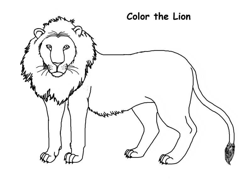 Lions Coloring Pages Coloring Kids - Coloring Kids