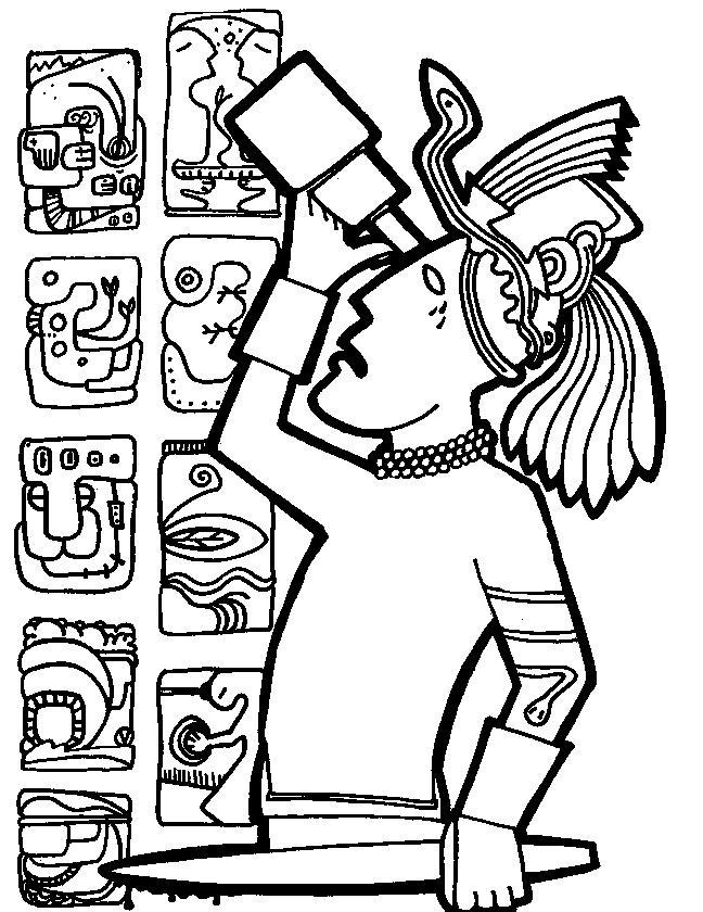 Mayan-Civilization-coloring-page-12