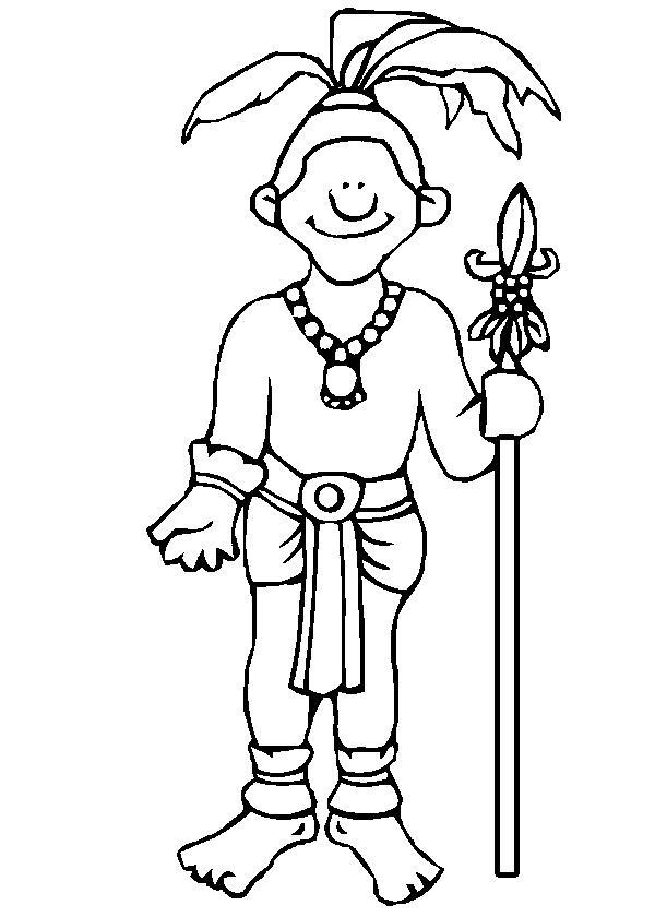 Mayan-Civilization-coloring-page-7