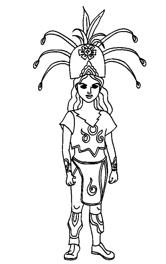 Mayan-Civilization-coloring-page-9