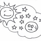 Meteor Coloring Pages