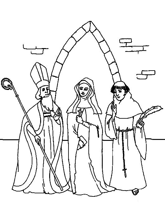 Middle-Ages-coloring-page-1