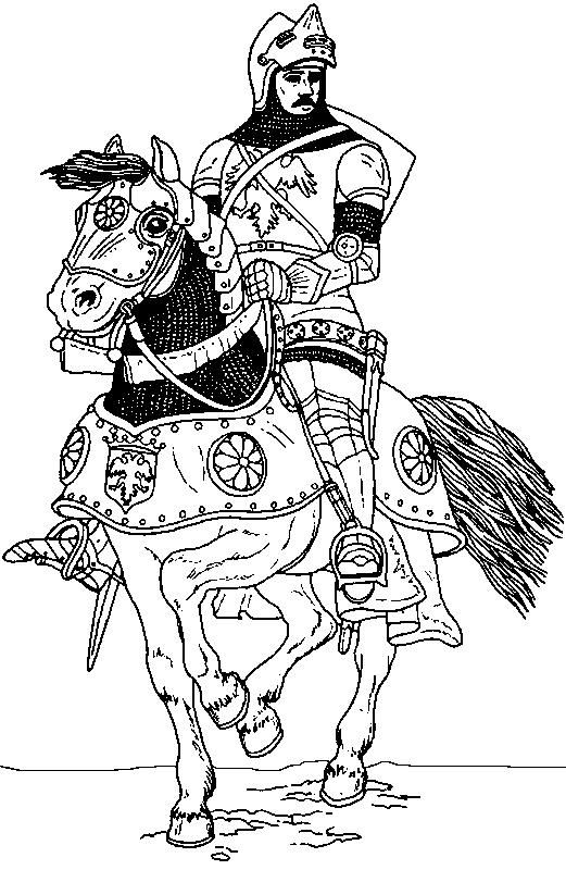 Middle-Ages-coloring-page-8