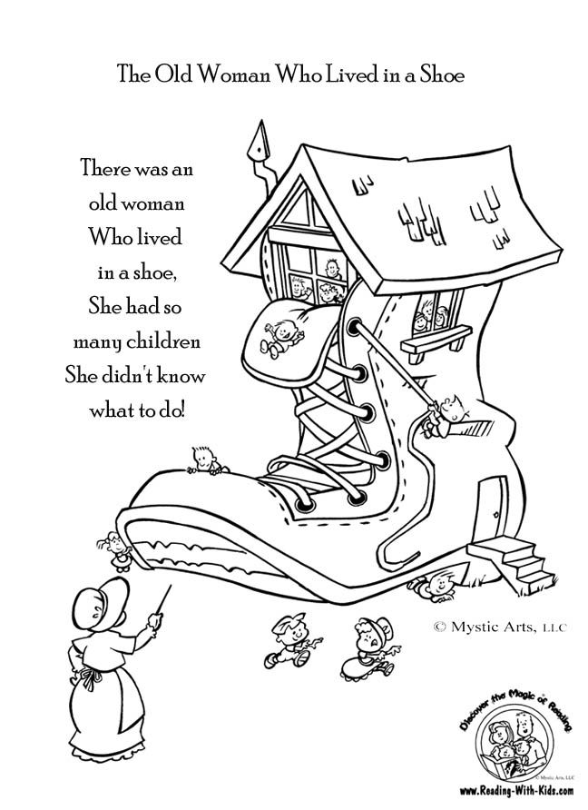 It is a photo of Punchy Poetry Coloring Page
