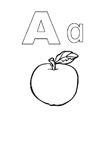 Preschool Coloring Pages (2)