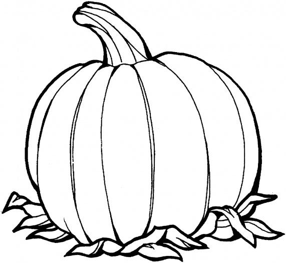 Pumpkin Coloring Pages (1)