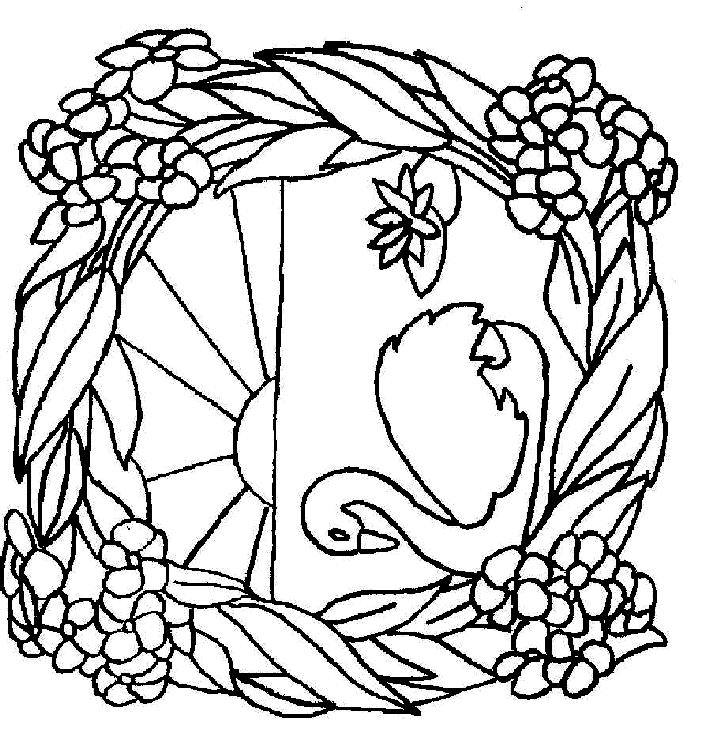 Swans-coloring-page-3