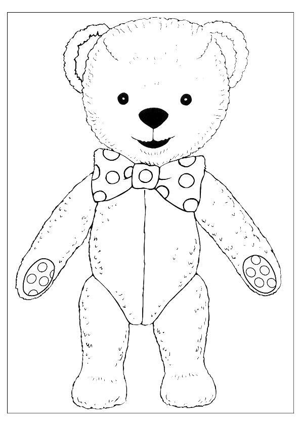 Teddy Bears Coloring Page 60 Coloring Kids