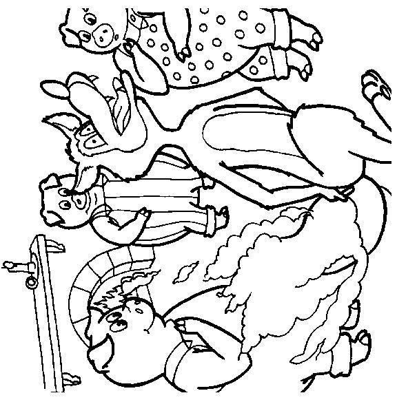 Wolves-coloring-page-30