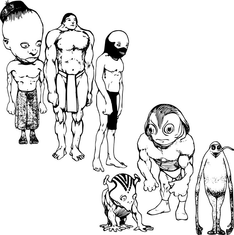 Alien Coloring Pages (2)