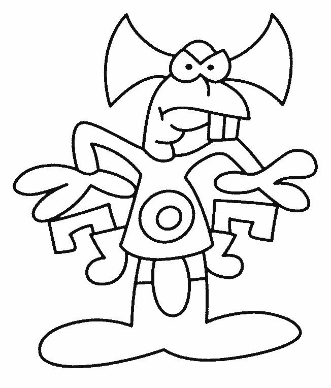 Alien Coloring Pages (6)