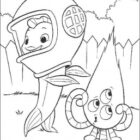 Alien Coloring Pages (9)