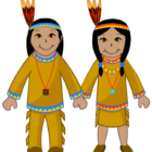 american indians coloring pages