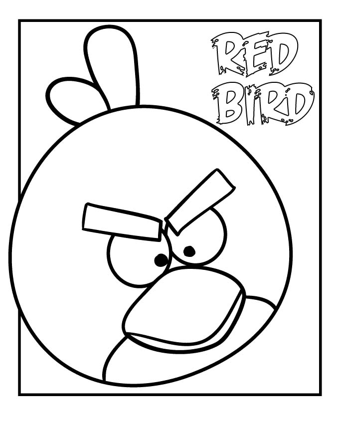 Angry Birds Coloring Pages (10)